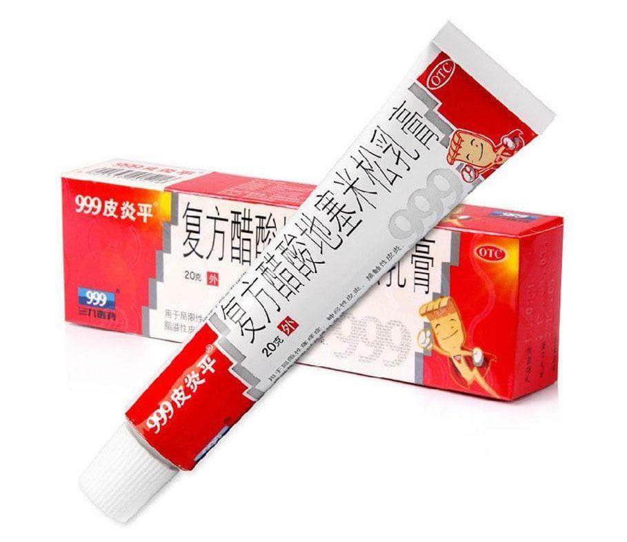 Кожная китайская мазь с реактивным эффектом ПианПин 999